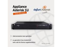 Appliance Asterisk 1U 200 Comptes -Xivo
